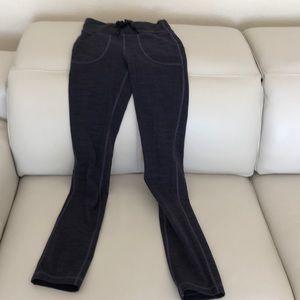 Lulumon dark violet textured pants